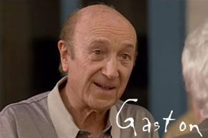 Personnages de gauche VS personnages de droite Gaston