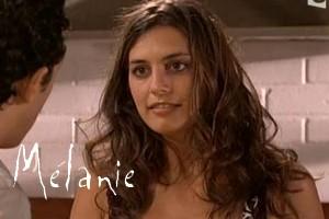 Melanie plus belle la vie couleur de cheveux